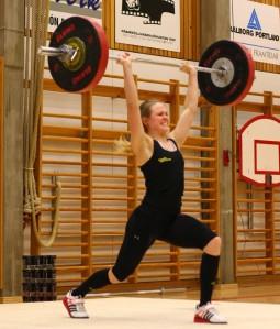 Þuríður að Jafnhatta 78 kg.
