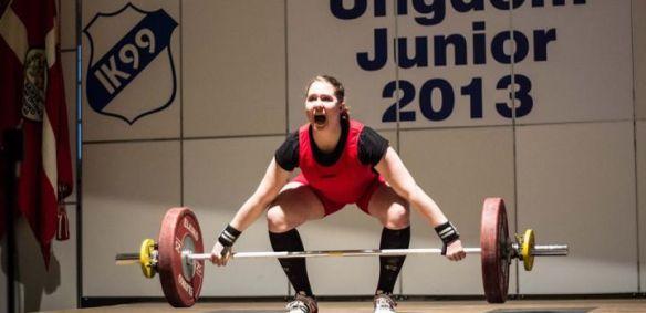 Lilja Lind varð Norðurlandameistari meyja (-17ára) árið 2013 í +75kg flokki