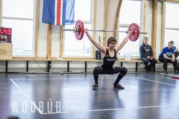 Arnór Gauti (LFG) með nýtt íslandsmet 17 ára og yngri í -69kg flokki