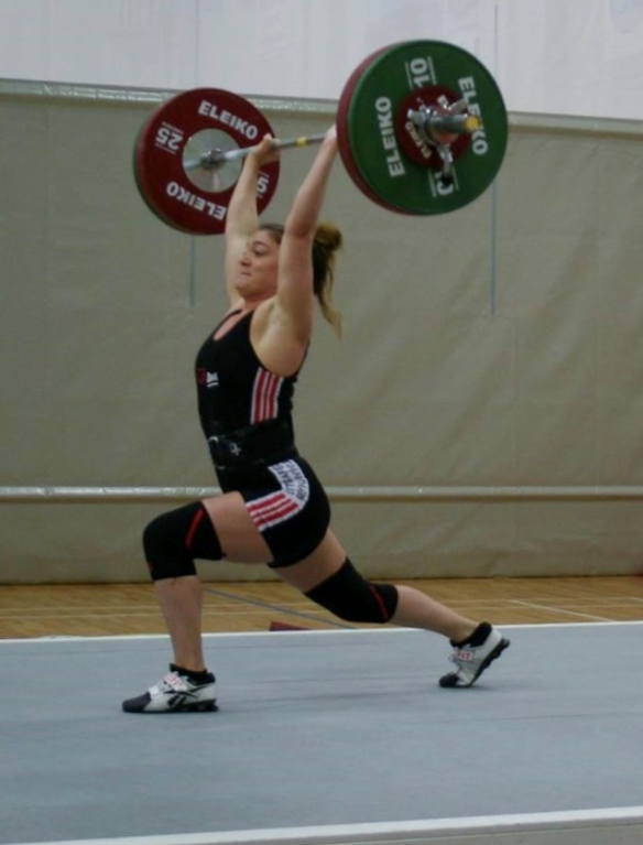 Aníta Líf Aradóttir (LFR) jafnhenti 95kg