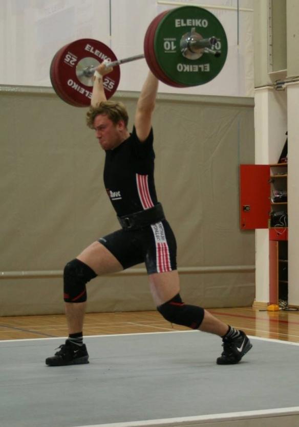 Bjarmi jafnhenti þyngstu lyftunni 145kg