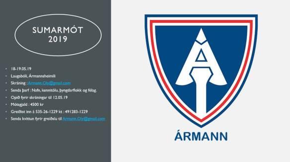 Ármann Sumarmót 2019